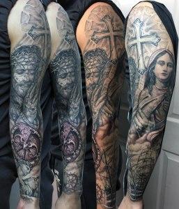 religious sleeve